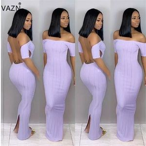 Purple Summer Dress S-XL